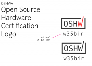 Open Source Hardware Certification logo