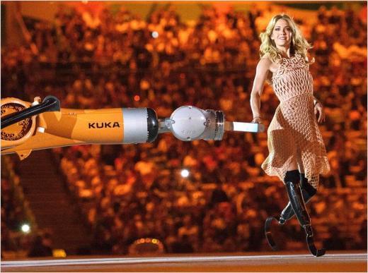 Paralympian dress