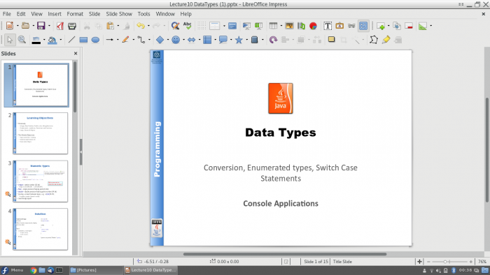 Presentation screenshot