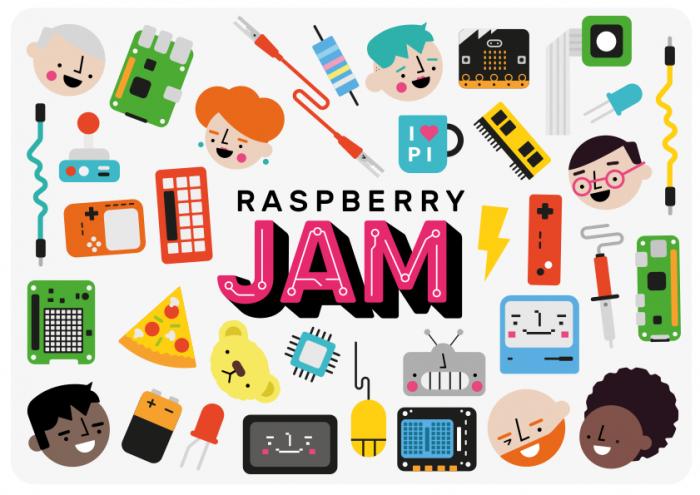 Raspberry Jam branding kit