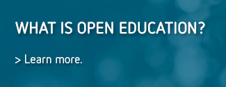 What is open education?