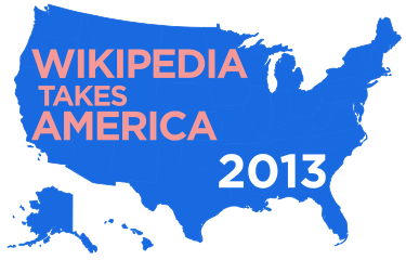 Wikipedia Takes America 2013.svg