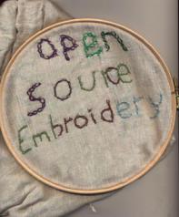 Open Source Embroidery