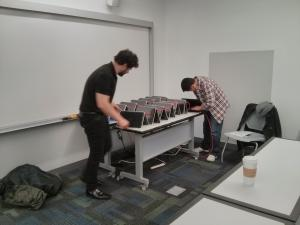 OpenStack workshop at SUNY OSF, portable cloud