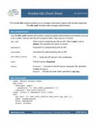 ansible-k8s-cheat-sheet