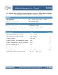 gnu-debugger-cheat-sheet