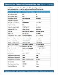 freedos-cheat-sheet