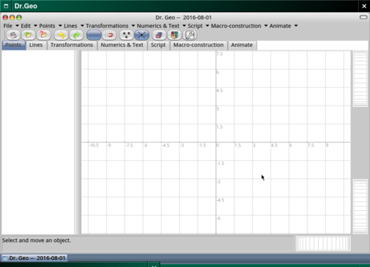 Working in a grid.