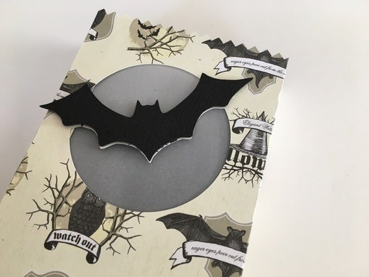 Vellum backing for the bat.