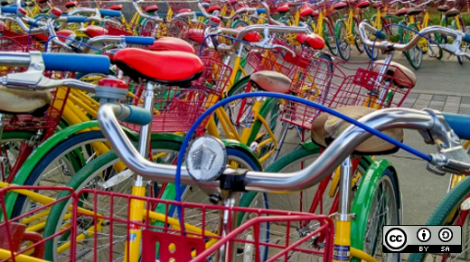 Redis and Python to build a bikesharing app