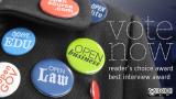 Vote now: Reader choice award, best interview award
