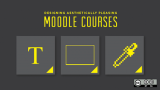 Designing aesthetically pleasing Moodle courses