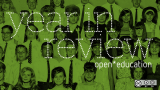 Top 10 open education articles in 2013