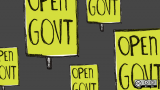 What action or organization did the most to advance open government in the U.S.