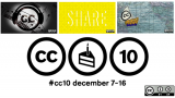 Creative Commons design mash up