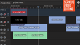 A screenshot of the Kdenlive timeline