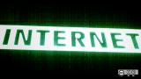 Neon sign: Internet