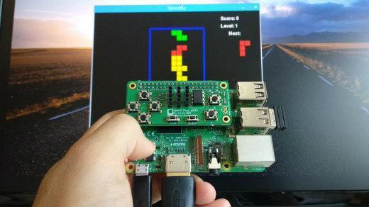 Raspberry Pi Gamepad device