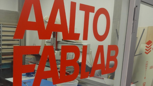 The Aalto University Fablab, in Espoo, Finland