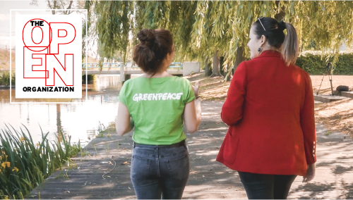 The Open Organization at Greenpeace