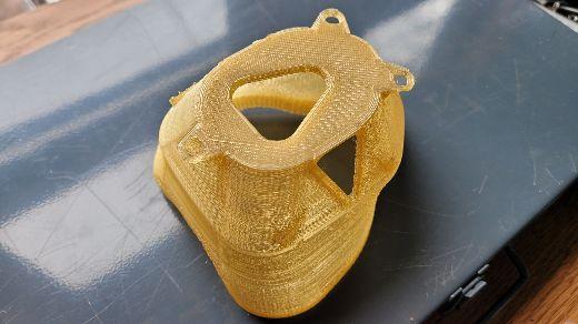 High-temperature 3D-printed mask
