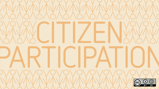Citizen participation text