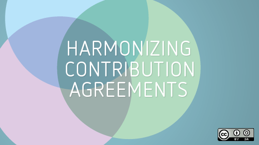 Harmonizing contribution agreements
