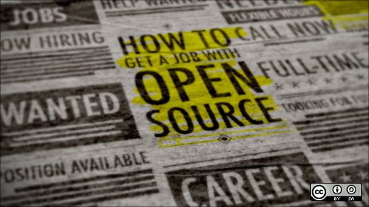 Open source experience can help you get a job
