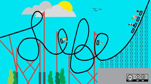 life rollar coaster