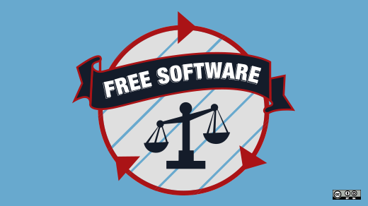 Legal scales in free software