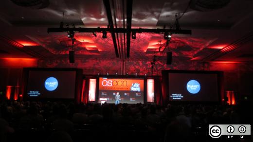 OSCON main stage 2014