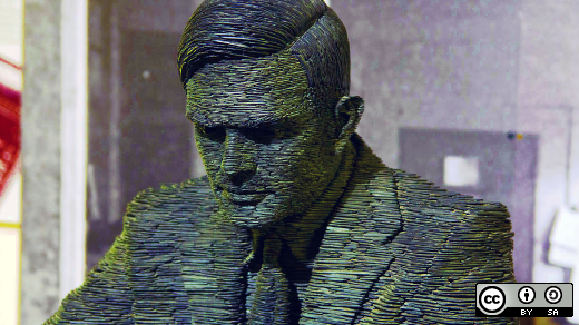 Alan Turning statue