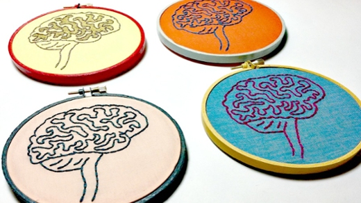 embroidered brains