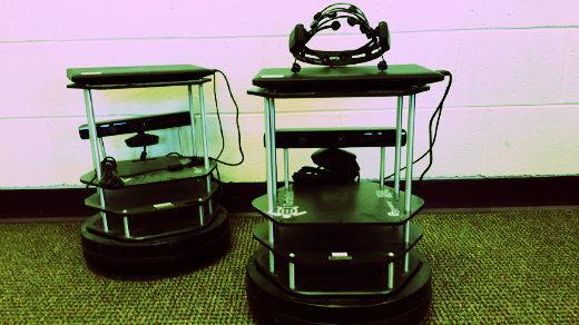 EEG headset robots