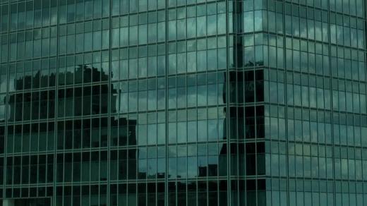 clouds in windows