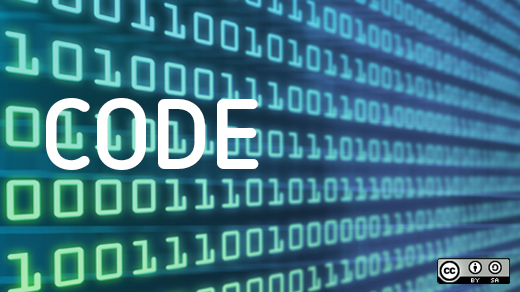 Code with green and blue binary background of ones and zeros