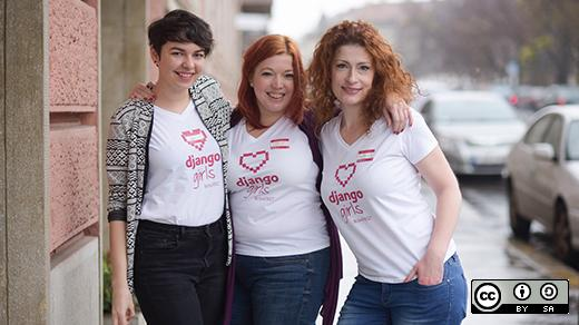The Django Girls Budapest team