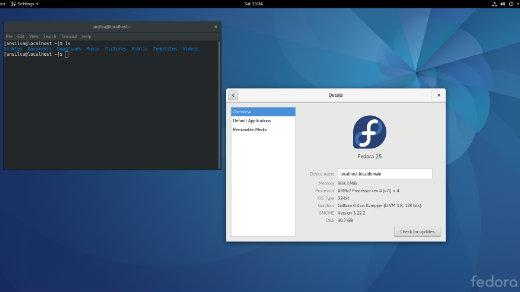 Gnome and Raspberry Pi screenshot
