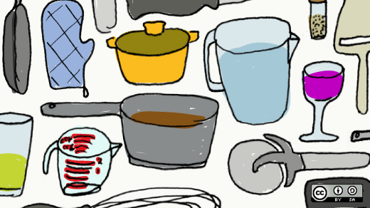 Various kitchenware items