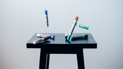 markers for a whiteboard
