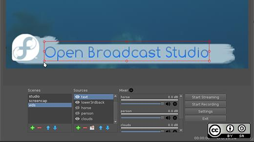On-the-fly video editing with Open Broadcast Studio