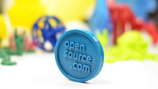 Open source 3D printed coin