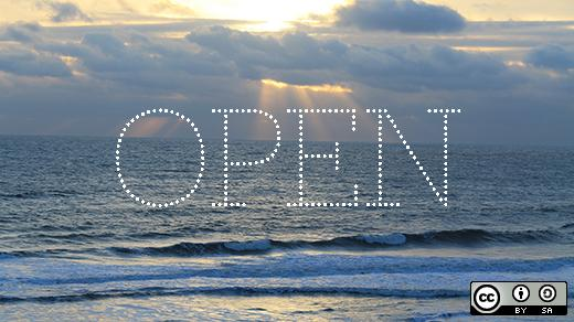 """open"" over an ocean"