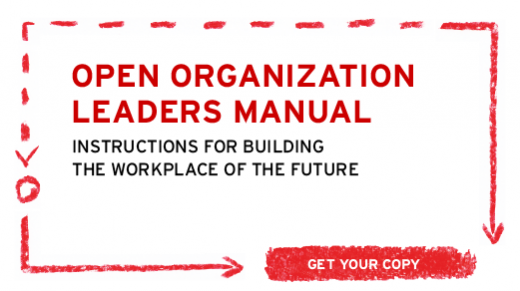 Open Organization Leader Manual cover
