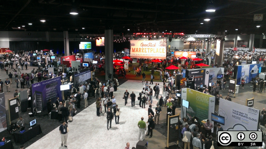 People at the OpenStack Summit 2014