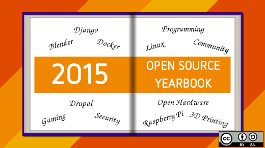 Open Source Yearbook image 2015