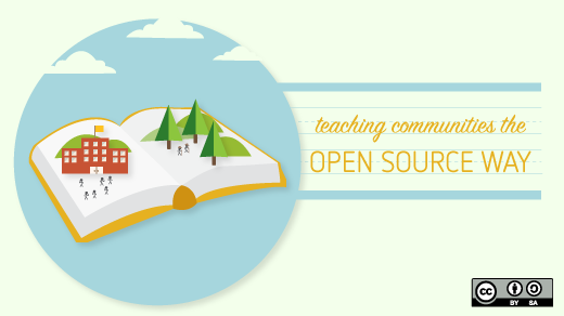 teaching the open source way open book