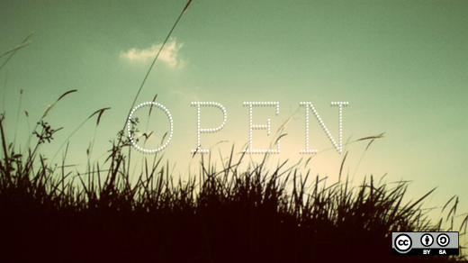 open with sky and grass
