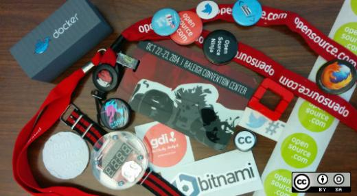 Opensource.com swag collection