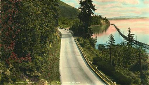 old postcard highway